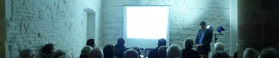 Vortrag in der ehemaligen Wachstube im französischen Tor Landau