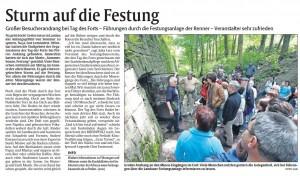 Bericht der Rheinpfalz vom 3.6.2013