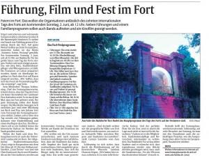 Bericht Rheinpfalz zum Tag der Forts 2013