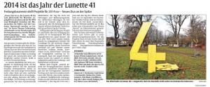 Rheinpfalz Bericht 1.4.2014