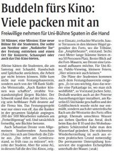 Bericht der Rheinpfalz zum Sozial-Aktiv-Tag