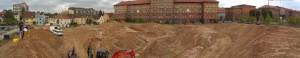 Ausgrabung Lunette 38 der Festung Landau