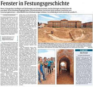 Rheinpfalz-Bericht Lunette 38 30.6.2014