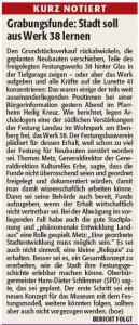 Rheinpfalz Kurzbericht Infoveranstaltung Lunette 38
