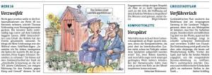 Rheinpfalz-Kommentar zum letzten Versuch der Rettung der Lunette 38 vom 27.9.2014