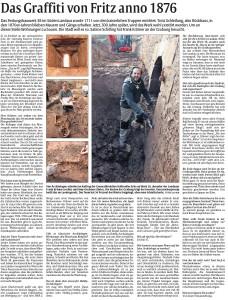 Interview mit Frank Krämer, Archäologe und 2. Vorsitzender des Festungsbauvereins Landau