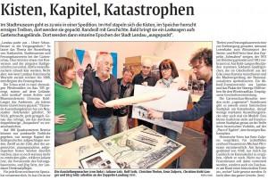 Rheinpfalz-Bericht Ausstellung Landesgartenschau vom 20.3.2015