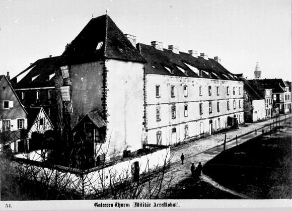 Galeerenturm um 1880, Quelle: Stadtarchiv Landau